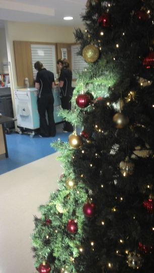 Christmas in hospital is not for the faint hearted