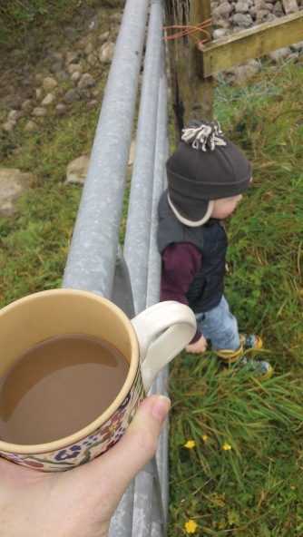 Coffee to go... outside